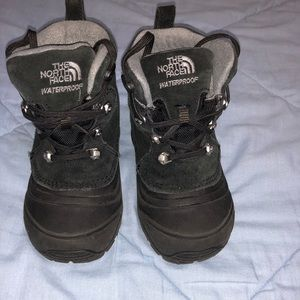 The North Face kids waterproof boots